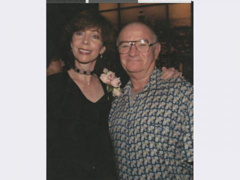 Burt Bass with Rita Rudner, circa 2000