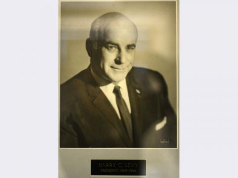 Portrait of Harry Levy