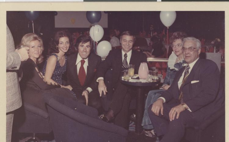 Elaine Wynn, Susan Molasky, Steve Wynn, Irwin Molasky, and Jean and Billy Weinberger. MS-00661, Irwin and Susan Molasky Papers.
