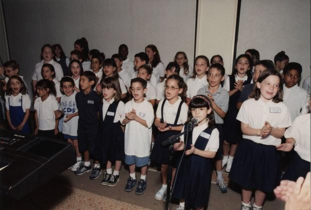 Jewish Community Center of Southern Nevada, group of children singing, undated