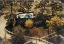 Spring Mountain Ranch purchased by Hughes from Vera Krupp, as a house for his wife, Jean Peters, who never followed her husband to Las Vegas.