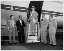Lawrence A. (Pat) Hyland arrives at Culver City to take over as General Manager of Hughes Aircraft Company. The later success of Hughes Aircraft. is usually credited to Hyland's effective leadership and management.