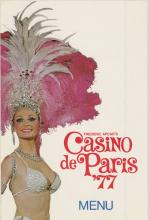 Casino de Paris, 1977.