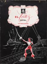 El Cortez Hotel Coffee Shop, menu, Monday, November 11, 1957