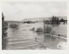 Advancing waters of Lake Mead, Nevada, 1938