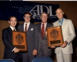 "Art Marshall, Governor Robert ""Bob"" List, Jerry Mack, and Herb Rousso at Anti-Defamation League event"