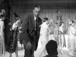 Photograph of Jack Entratter during rehearsals with the Copa Girls and Frank Sinatra, Las Vegas, 1954