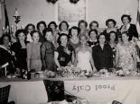 Photograph of women at an event for the Jewish community, 1950s