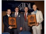 Jerry Mack (second from right) at Anti-Defamation League event
