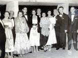 Las Vegans at a Variety Club event in Mexico City, Mexico circa mid-1950s. Jake Kozloff is second from right.