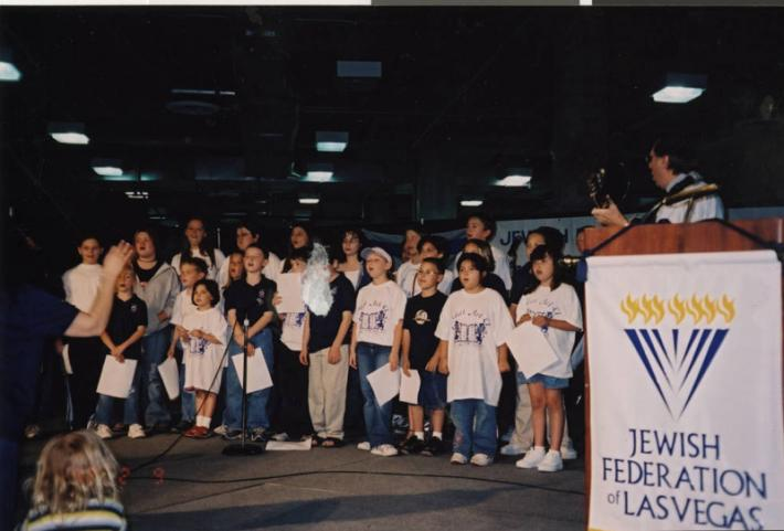 Photograph of event hosted by the Jewish Federation of Las Vegas, 2000s