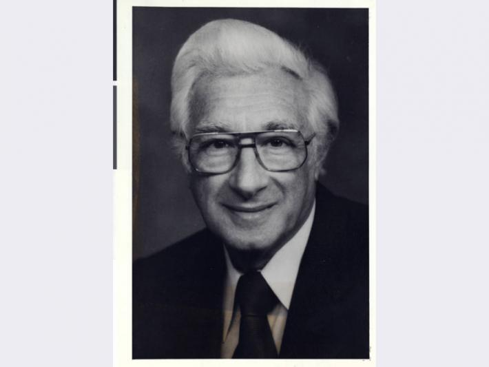 Portrait photograph of Nat Hart, 1970s