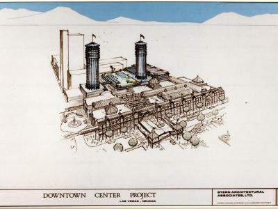 DOWNTOWN CENTER PROJECT, PROJECT OVERVIEW (1987)