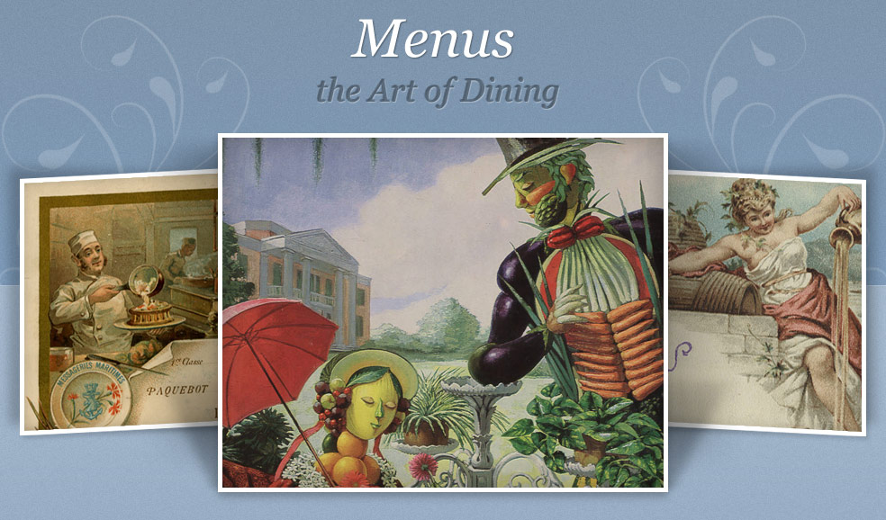 Menus: The Art of Dining